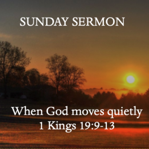 When God Moves Quietly